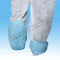 Nonwoven Shoe Cover with Non-Slip DOT Sole (TS01B)